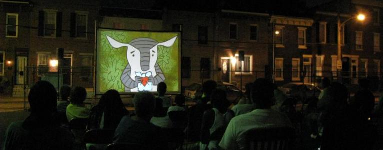 Street Movies! at Fairhill Park